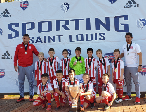 Olympiacos Chicago LEGENDS Top Sporting STL Metrofest Tournament